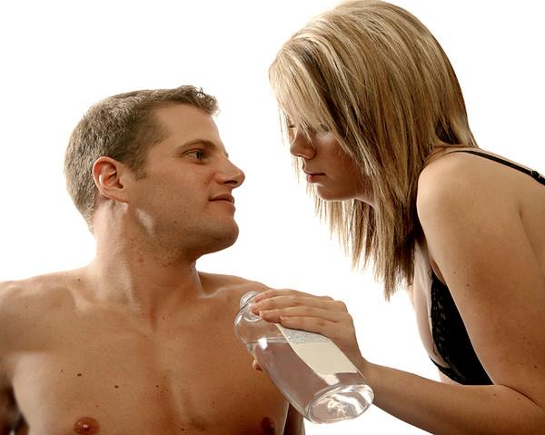 Spermicidal lube