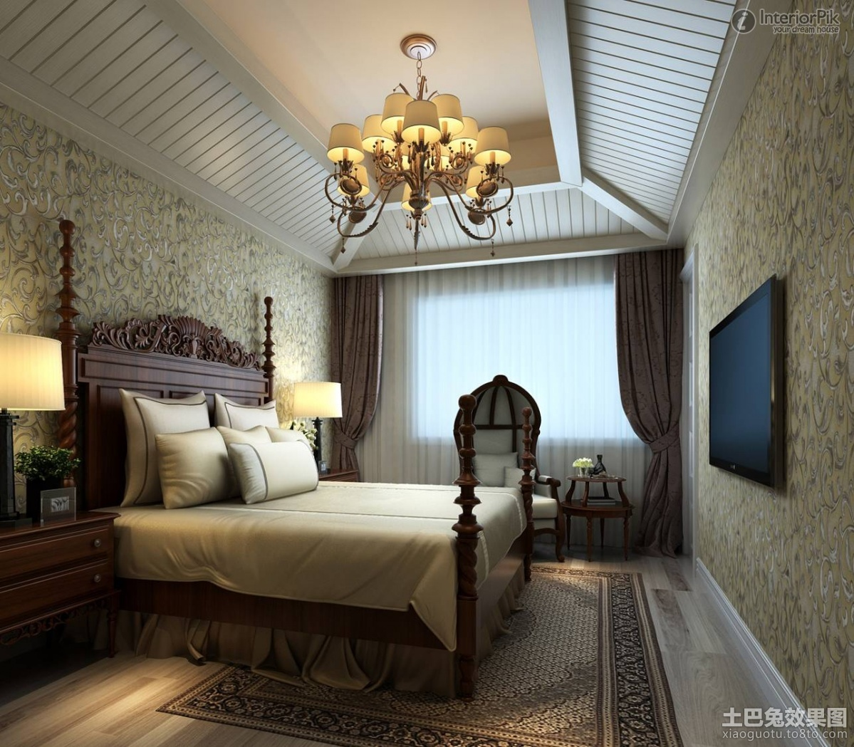 Top 7 ideas to make your bedroom romantic romantical aid Chandelier in master bedroom