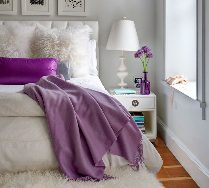 Purple Romantic Room